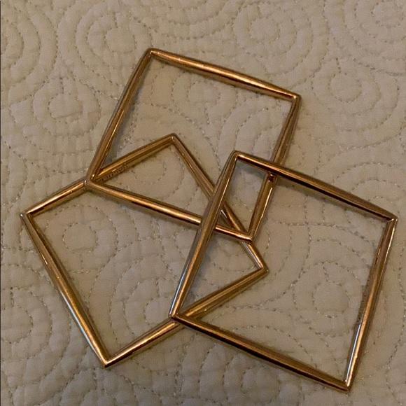 Rachel Zoe Jewelry - Rachel Zoe square bangles